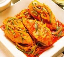 Pechugas de pollo con verduras