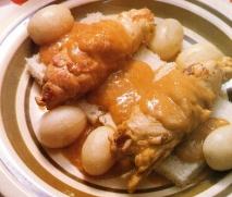 Pechugas de pollo mechadas