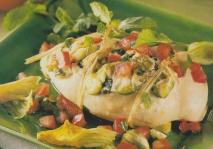 Pechugas de pollo rellenas de hortalizas
