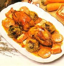 Receta de Perdices con coles