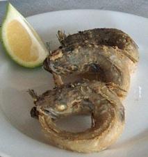Pescado frito a la egipcia