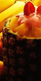 Receta de Piña helada a la crema de fresones
