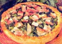 Receta de Pizza de acelgas