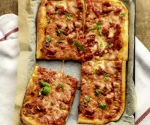 Receta de Pizza Margarita en Thermomix