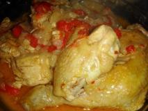 Pollo al pimentón picante