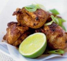 Pollo jamaicano al jerk