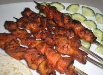 Pollo tandoori al estilo hindú
