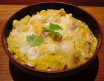 Receta de Pollo y huevo con arroz (Oyakodon)