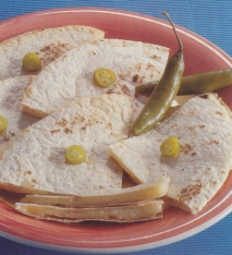 Quesadillas de tortillas