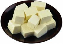 Queso de soja (Tofu)