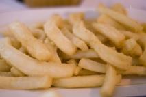 Rabas de calamar fritas