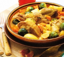 Ragú de cordero con verdura