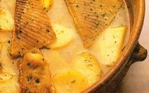 Raya con patatas