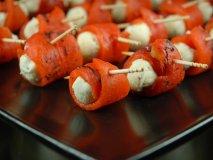 Rollitos de pimientos rojos