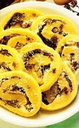 Rollo de patatas con setas