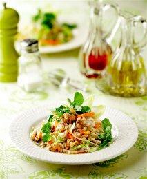 Salpicón de arroz integral