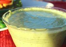 Salsa picante de cebolleta y cilantro en Thermomix