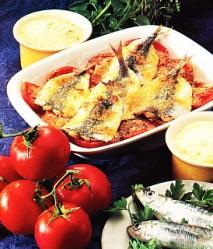 Receta de Sardinas a la parmesana