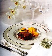 Solomillo con salsa de foie y oporto