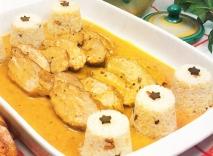 Solomillo con salsa al gorgonzola