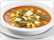 Sopa al estilo mexicano