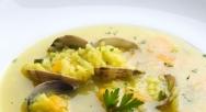 Sopa amarilla de arroz