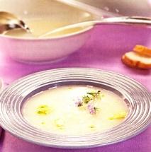 Receta de Sopa de ajo y romero