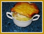 Sopa de cebolla con costra