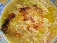 Sopa de col al horno