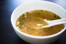 Sopa de miso japonesa