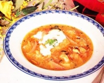 Sopa de pescado brasileña