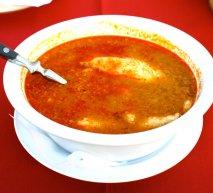 Receta de Sopa de pescado de río