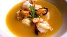 Sopa de pescado y marisco en Thermomix
