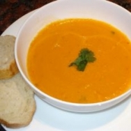 Sopa de zanahorias