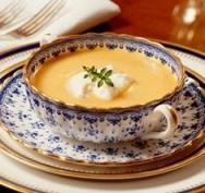 Receta de Sopa de zanahorias con boniato