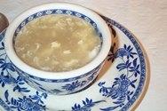 Sopa japonesa de huevos
