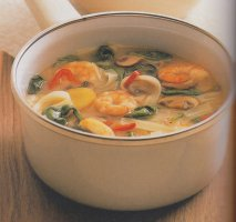 Receta de Sopa picante y agria