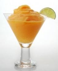 Sorbete de naranja casero