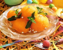 Sorbete de naranja