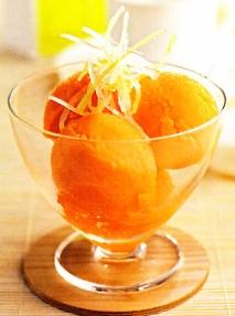 Sorbete de zanahoria