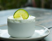 Soufflé frío de limón