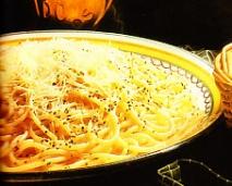Espaguetis, Cacio e Pepe