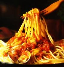 Espaguetis mar y montaña