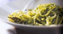 Spaguettis al Pesto