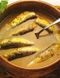 Receta de Suquet de anchoas