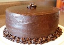 Tarta de chocolate sin azúcar