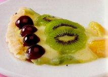 Receta de Tarta de frutas frescas brillante