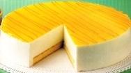 Tarta de limón con mermelada de albaricoque