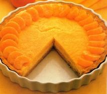 Receta de Tarta de limón y mandarinas