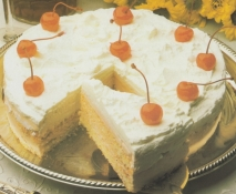 Tarta de mantecada